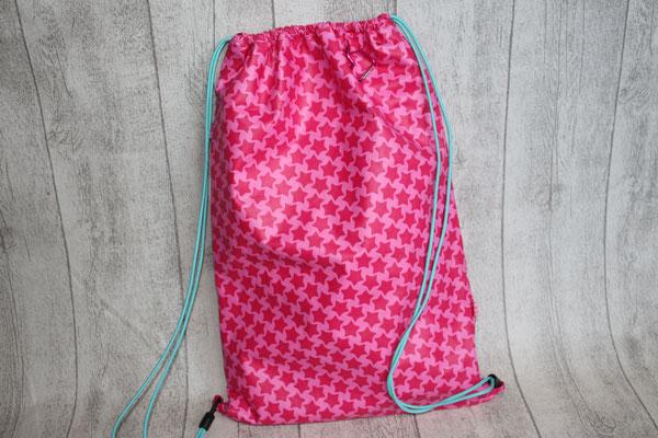 WENDBARER Rucksack ... eine Seite STAARS in pink