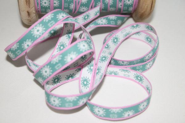 Aspegren - Twinkle grün - 10 mm breit - 100% Polyester- EUR 1,30/m