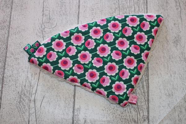 Design: Farbe: HHL - Bloomy - grün/pink - 2 x mit versch. Webbändern verfügbar !!
