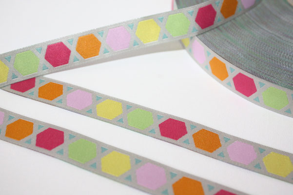 Geometric - Design: farbenmix - 15 mm breit - EUR 1,60/m