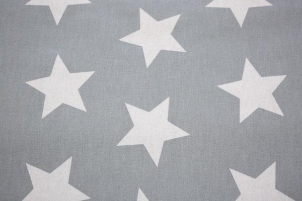 besch. Baumwolle Au Maison - STAR GIANT - Sterne GIANT dusty blue