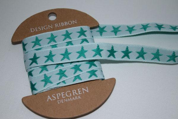Sterne - grün - Aspegren - 3 Meter !!!! - EUR 4,20/3m
