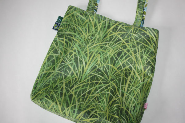 """.. 2. Seite aus einer beschichteten Baumwolle - Design """"Gras"""""""