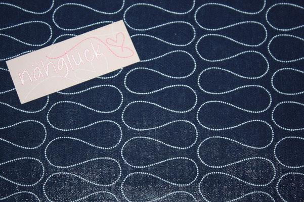 besch. Baumwolle Au Maison - OMNIA - twilight blue