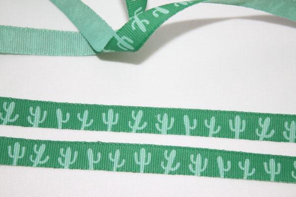 Kakteen / Kaktus grün - 10 mm breit - EUR 1,20 /m