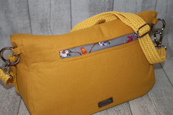 Rückseite der Tasche - Eingriffs-/Einstecktasche