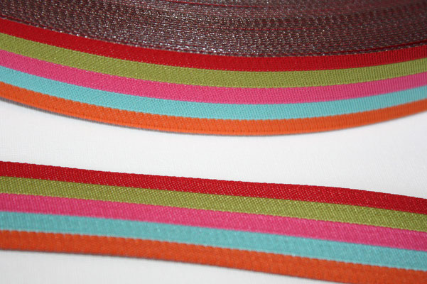 Stripes sweets - Design: farbenmix - 20 mm breit - EUR 2,00/m