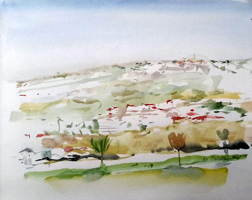 St. Giorgio - Sicht von Perletto aus
