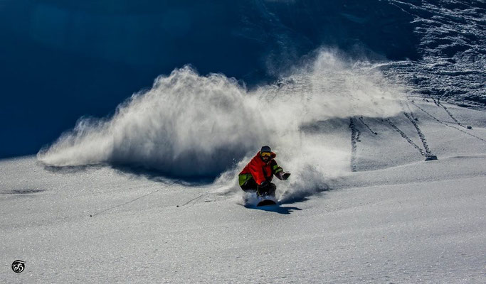 Rider : Jan C. Gyger / Picture: Tom Schäfer / Location: Saas Fee