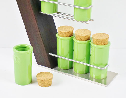 Gewürz-/Teeregale Geschenke Küche Design - Massivholz ...