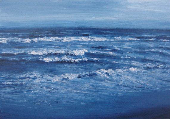《夜の海》  B5