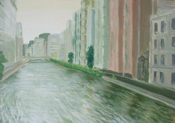 《東京の川》  B4/6月17・19日制作