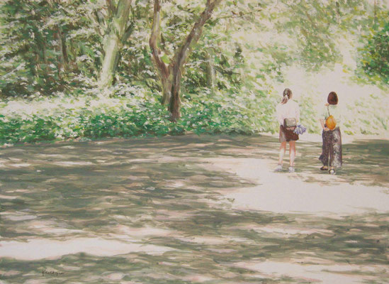 《恋ひ初めし日 (こいそめしひ) 》  F4/5月21-22日/8h
