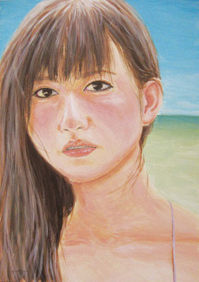 《夏の匂い》  B4/8月22日制作/¥25,000(税込)