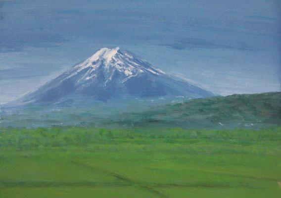 《富士の初雪》  B5