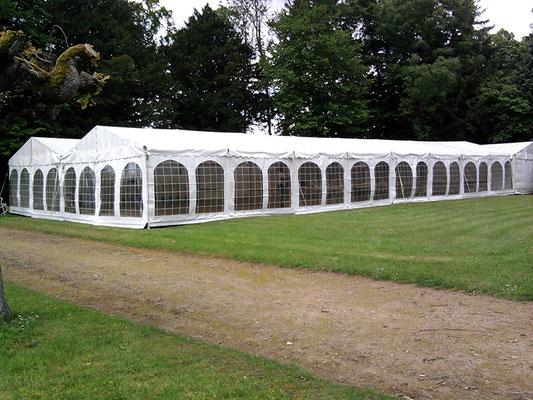 Location de Tentes luxe pour salon en Normandie