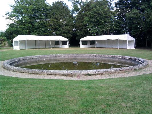 Location de Tentes pour salon en Normandie