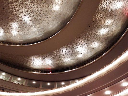 Decke in der Oper Warschaus