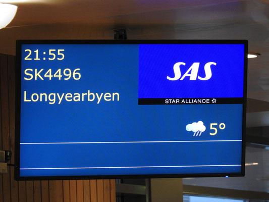 Spitzbergen, Longyearbyen - weiter geht's