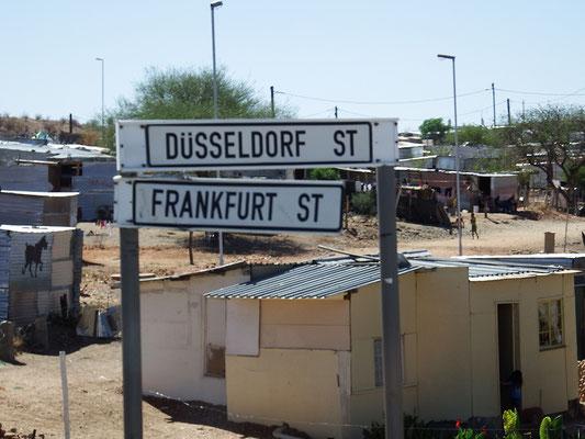 Äh, obwohl wir eindeutig nicht Zuhause, sondern in Namibia sind ...