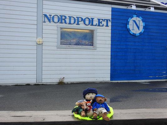 Wir, Kasimir - Cäsar - Fredi und Kerl, am Nordpol!