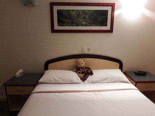 unsere letzte Schlafstatt in Downunder