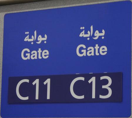 Panik - wo ist unser Gate 12?!