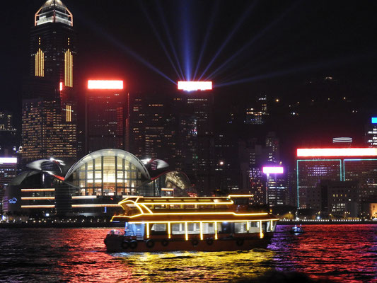 uuund - HongKongs tägliche Light/Lasershow
