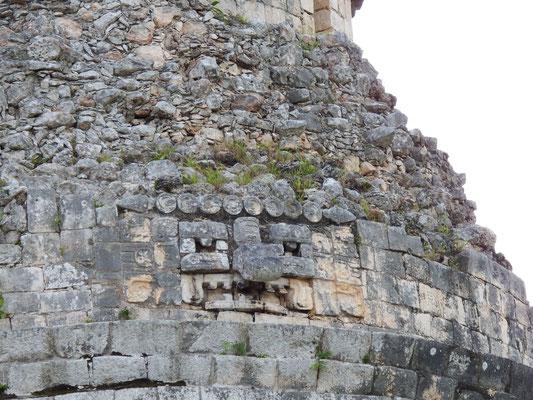 Maya-Stätte, Chichén Itzá, Yucatán - Mexiko