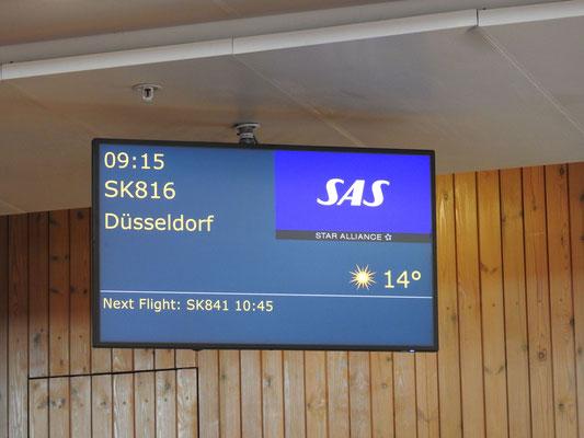 und von Oslo nach Hause