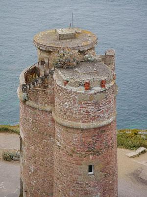 der alte Leuchtturm von Cap Frehel