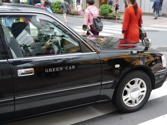 Huch, farbenblind? Green Cab oder Black Car?