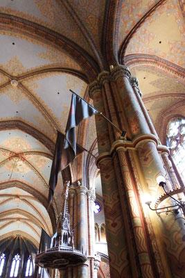 Innenansicht Matthiaskirche, Buda, Budapest
