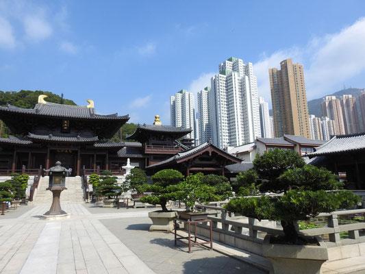 auf zum wunderschönen Nan Lian Garten des Chin Lin Klosters