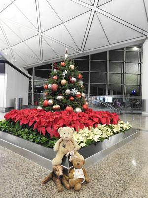 Weihnachten am Flughafen