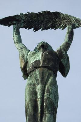 Freiheitsstatue Gellèrtberg, Buda, Budapest