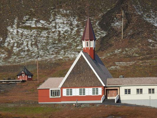 Die Kirche von Longyearbyen.