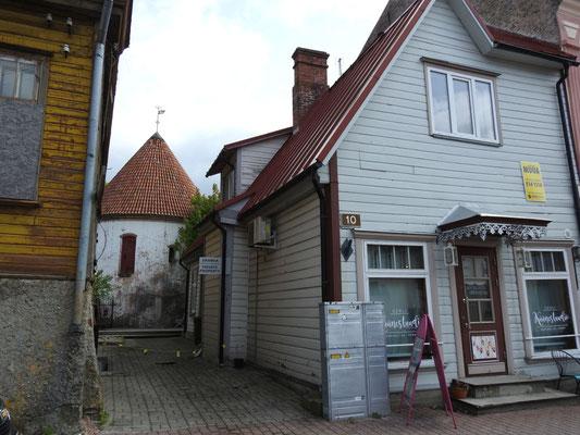 alte Gebäude in Parnüs Innenstadt, Estland