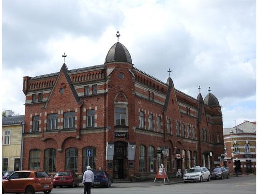 altes Gebäude in Parnüs Innenstadt, Estland
