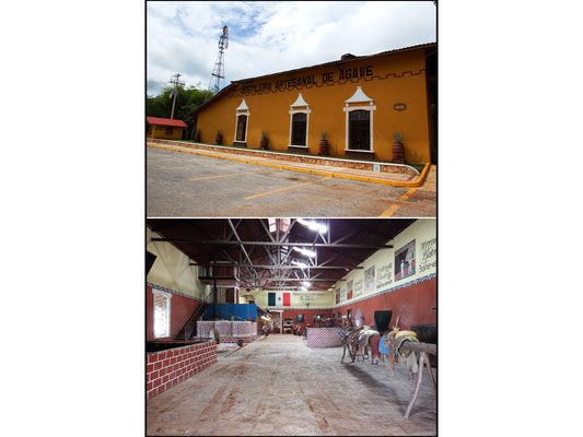 Tequilla-Destillerie in Yucatán, Mexiko