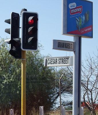 ... ha, und eine Straße für mich, Cäsar gibt es auch!