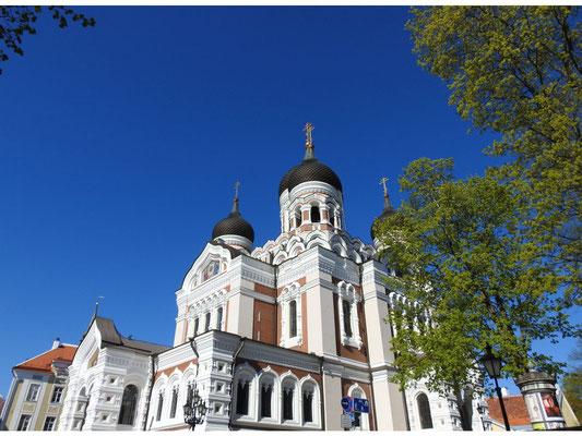 Aleksander-Newski-Kathedrale auf dem Domberg in Tallin