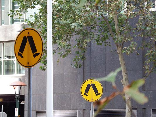 ? Ah! Fußgängerüberweg