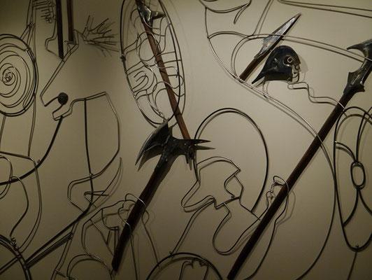 Kunstwerk in Kasimirs, Cäsars und Fredis Hotel Fron