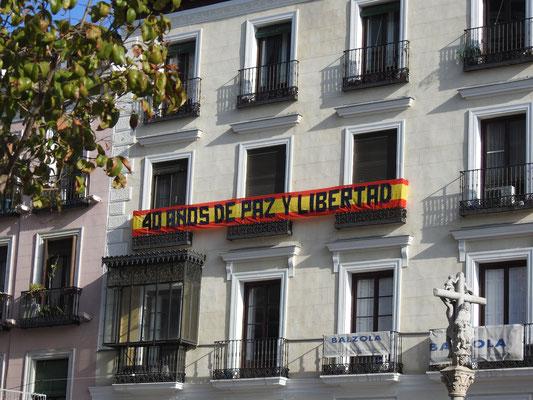 Die derzeitige Verfassung des Königreichs Spanien trat am 29. Dezember 1978 in Kraft - deshalb.