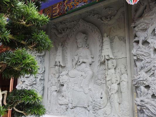 Relief am Tempel