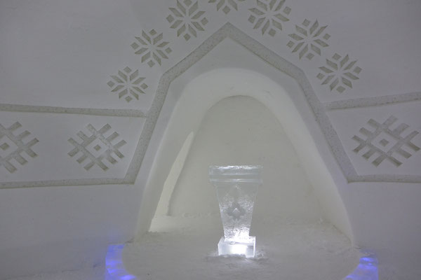 ... Kapelle in Snow Village, in der geheiratet wird!