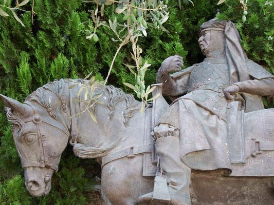 Kasimir, Cäsar, Fredi und Kerl sehen Kreuzritter in Israel