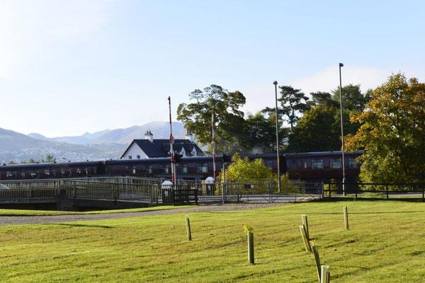 und hier donnert der Hogwarts (Jacobit) Express von Fort William nach Mallaig vorbei