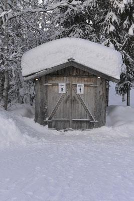 """""""Hüsken"""" im Schnee"""